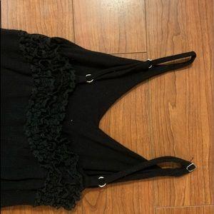 Vintage Havana Other - Girls Flowy Black Vintage Havana Romper Size 8-10